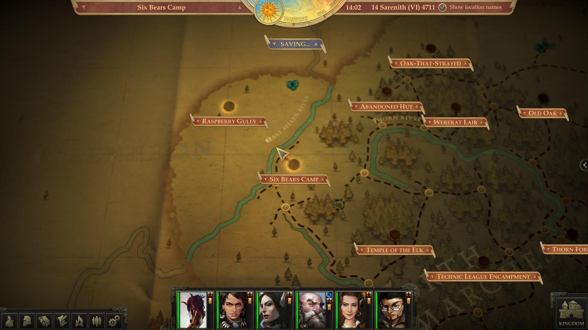 Pathfinder:Kingmaker Minimal and No Reload Thread (spoilers